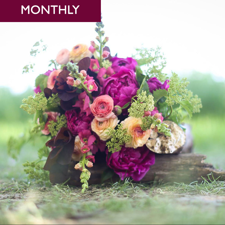 Personal Petal Club – Bouquet of the Month